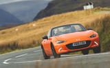 Mazda MX-5 - Best affordable driver's car winner - front