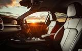 Alfa Romeo Stelvio Sprint 2020 UK first drive review - cabin