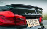Alpina B5 BiTurbo saloon brake lights