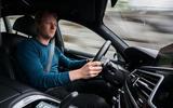Alpina B7 2019 first drive review - Richard Lane driver's seat