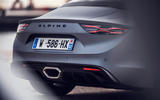 Alpine A110S 2019 first drive review - rear end