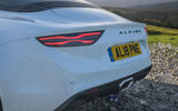 Alpine A110 S 2020 UK first drive review - rear lights