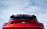 Aston Martin DBX 2020 UK first drive review - rear end