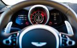 Aston Martin Vantage instrument cluster