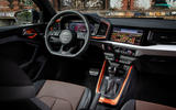 Audi A1 Citycarver 2019 first drive review - dashboard
