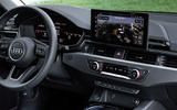 Audi A4 2019 first drive review - infotainment