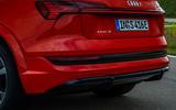 Audi E-tron S Sportback 2020 first drive review - rear end
