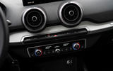 Audi Q2 2020 first drive review - climate controls