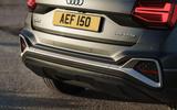 Audi Q2 35 TFSI Sport 2020 UK first drive review - rear end