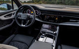 Audi Q7 TFSI e 2019 first drive review - dashboard