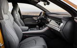 Audi Q8 2018 first drive review cabin