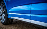 Audi RS Q3 Sportback 2019 UK first drive review - side skirts