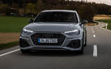 Audi RS4 Avant 2020 first drive review - on the road front