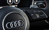 Audi RS5 Coupé 2020 first drive review - steering wheel