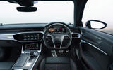 Audi RS6 2020 UK first drive review - dashboard