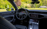 Audi S6 2019 first drive review - dashboard