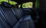 Audi S6 2019 first drive review - rear seats