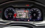 Audi S6 Avant TDI 2019 UK first drive review - instruments