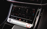 Audi S8 2020 UK first drive review - climate controls