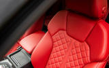 Audi SQ5 2019 first drive review - seat detail