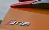 8 Audi SQ8 2021 UK FD rear badge