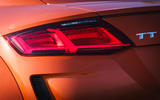 Audi TT Coupe 2019 UK first drive review - rear lights