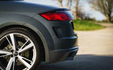 Audi TT Roadster 2019 UK first drive review - rear end