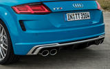 Audi TTS 2018 first drive review exhaust