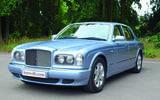 Bentley Arnage - front