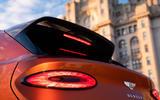 Bentley Bentayga 2020 UK first drive review - rear lights