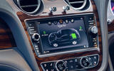 Bentley Bentayga Hybrid 2020 UK first drive review - infotainment
