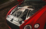Bentley Continental GT V8 2020 UK first drive review - engine