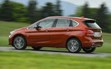 BMW 2 Series Active Tourer 2018 review on the road side