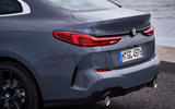 BMW 2 Series Gran Coupe 220d 2020 first drive review - exhausts