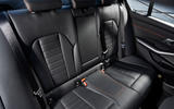 BMW 3 Series 320d Sport Line 2019 first drive review - rear seats