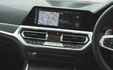 BMW 3 Series 330i 2019 UK review - infotainment