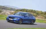 BMW 3 Series 320d 2019 UK first drive review - on the road front