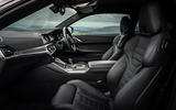 BMW 420i Coupe 2020 UK first drive review - cabin