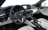 BMW 5 Series 2020 UK (LHD) first drive review - cabin