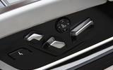 BMW 7 Series 740Ld long-term review seat controls