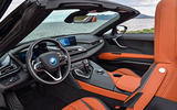 BMW i8 Roadster 2018 first drive review cabin