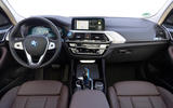 BMW iX3 2020 first drive review - cabin
