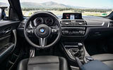 BMW M2 Competition 2018 first drive review dashboard