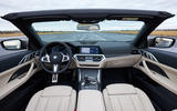 8 BMW M440i Convertible 2021 first drive review dashboard