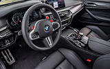 BMW M5 Competition 2018 first drive review dashboard