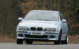 BMW M5 - hero front