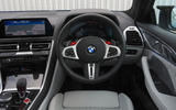 BMW M8 Competition Coupe 2020 UK first drive review - dashboard