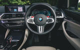 BMW X3 M Competition 2019 UK first drive review - dashboard