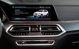 BMW X5 xDrive 45e 2019 UK first drive review - infotainment