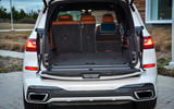 BMW X7 M50i 2020 first drive review - boot